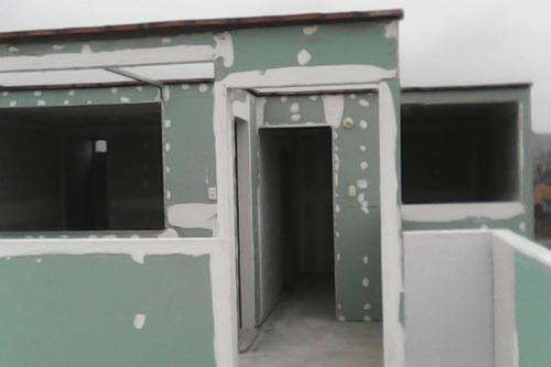const. drywall c/sin refuerzo y techo d concreto antisismico