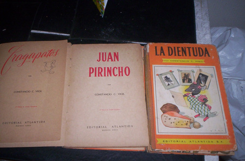 constancio c vigil tres libros  decada del 50
