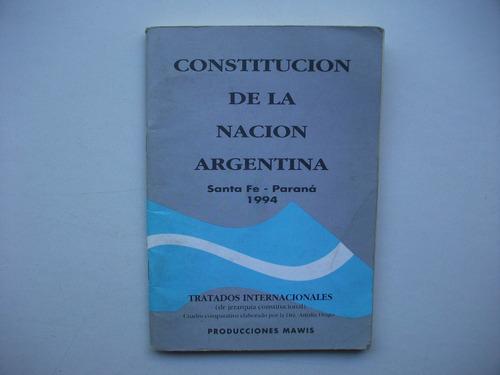 constitución de la nación argentina - c/ cuadro comparativo