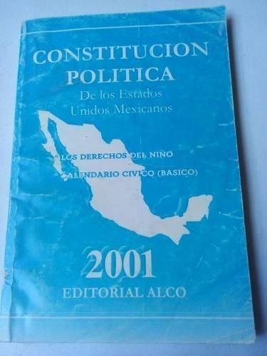 Civ Calendario.Constitucion Mexicana Y Derechos Del Nino Calendario Civ 50 00