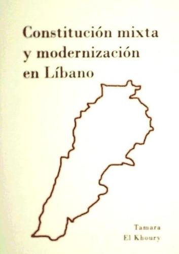 constitución mixta y modernización en líbano(libro humanas y