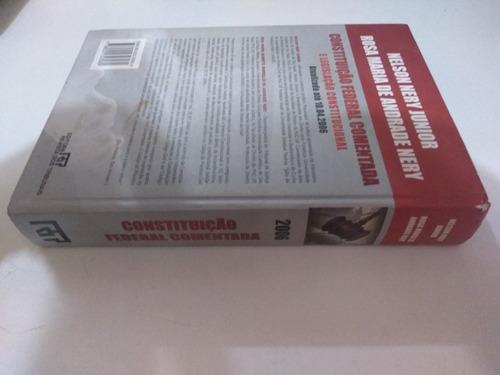 constituicao federal comentada e legislacao constitucional