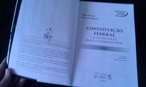 constituição federal anotadas pelas bancas
