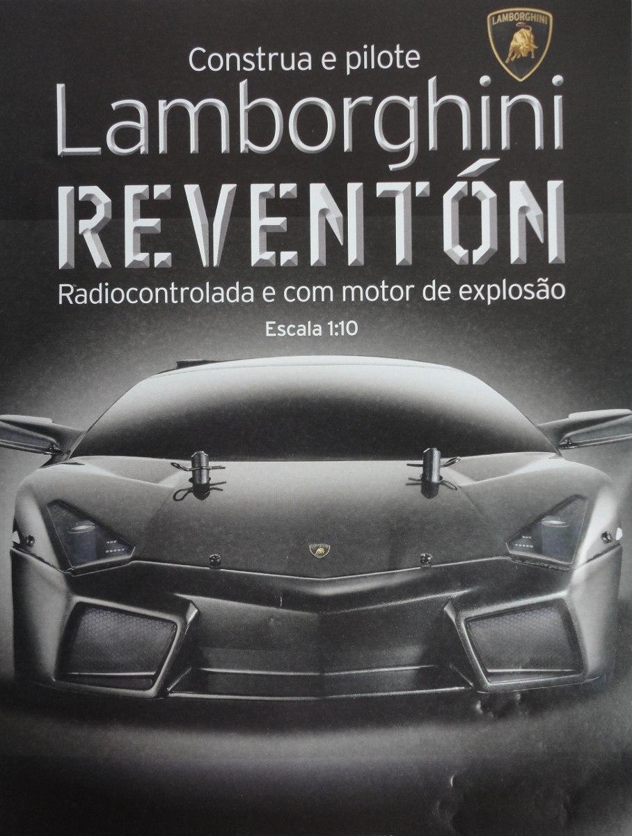 Construa E Pilote Lamborghini Reventon Planeta Deagostini R 25 00