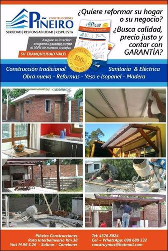 construcción albañilería reformas reciclajes