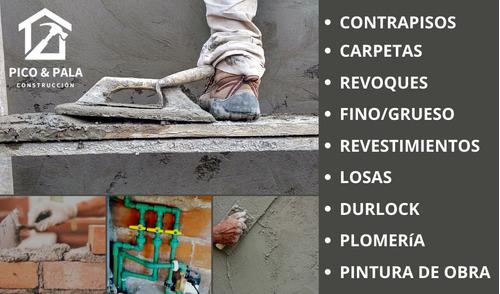 construccion, albañileria, revoques, carpetas, paredes