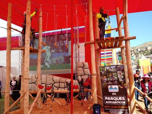 construcción-canopy-zip line-vías ferratas-parques aventura