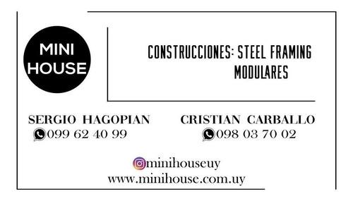 construcción casas prefabricadas steel framing