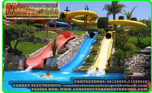 construccion de balnearios acuaticos mega parques infantiles