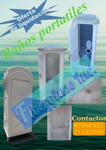 construcción de baños y duchas portatiles