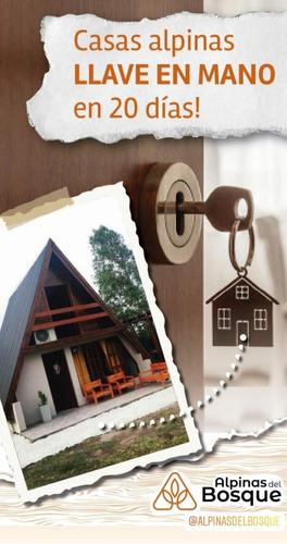 construcción de cabañas alpinas llave en mano n todo el pais