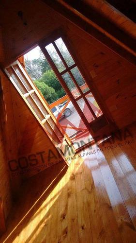 construcción de  cabañas alpinas modelo full // costamontana