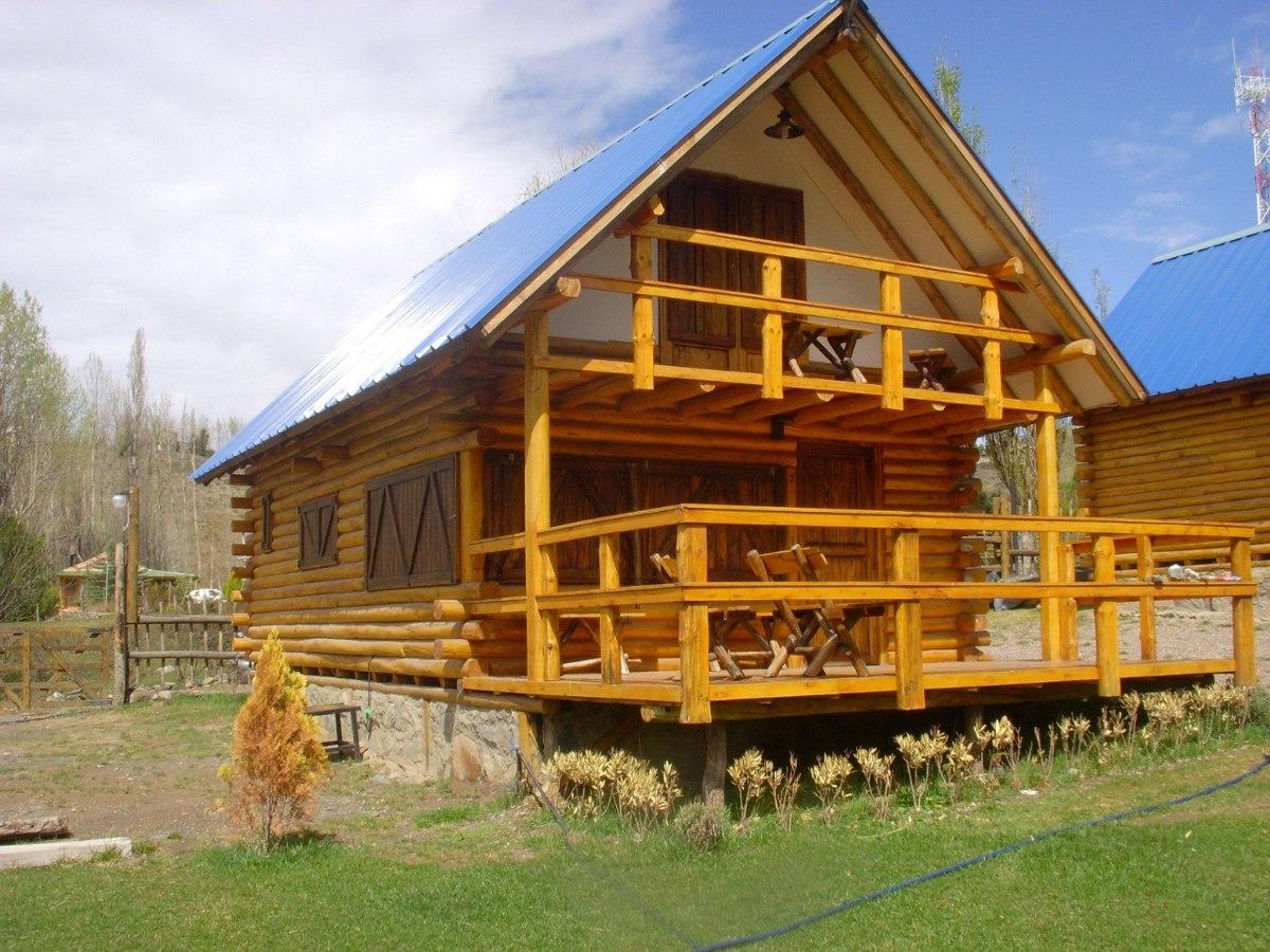 Construccion de caba as de troncos machimbrados eucalipto - Construccion de cabanas de madera ...