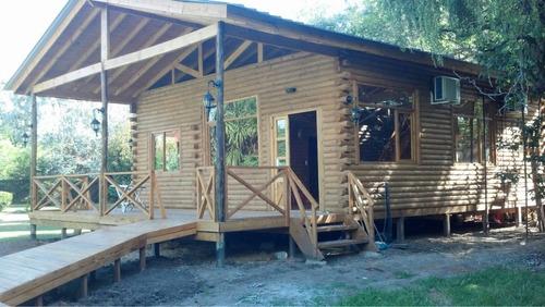 construccion de cabañas de troncos, quebracho, madera