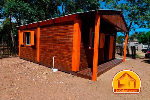 construcción de cabañas llave en mano. son casas por dentro.