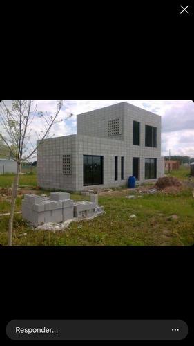 construcción de casas en bloques de hormigón llave en mano
