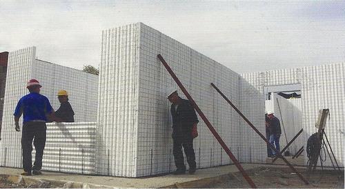 construcción de casas en concrespuma.