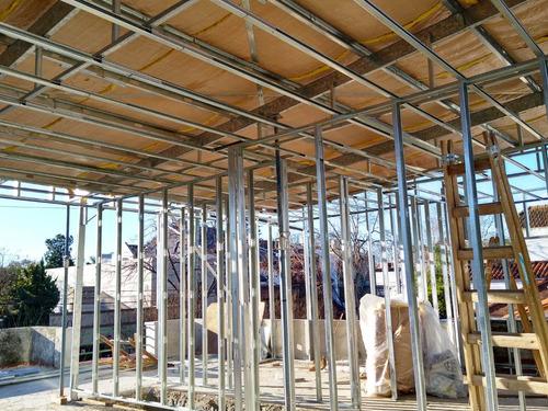 construccion de casas steel framing llave en mano x m² jb