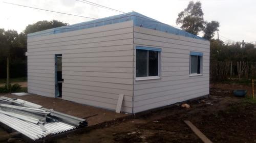 construccion de casas steel framing procrear x m2 economi jb