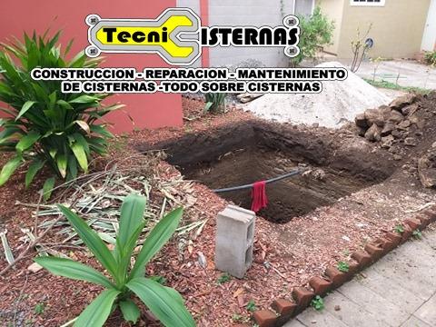 construcción de cisternas de agua potable