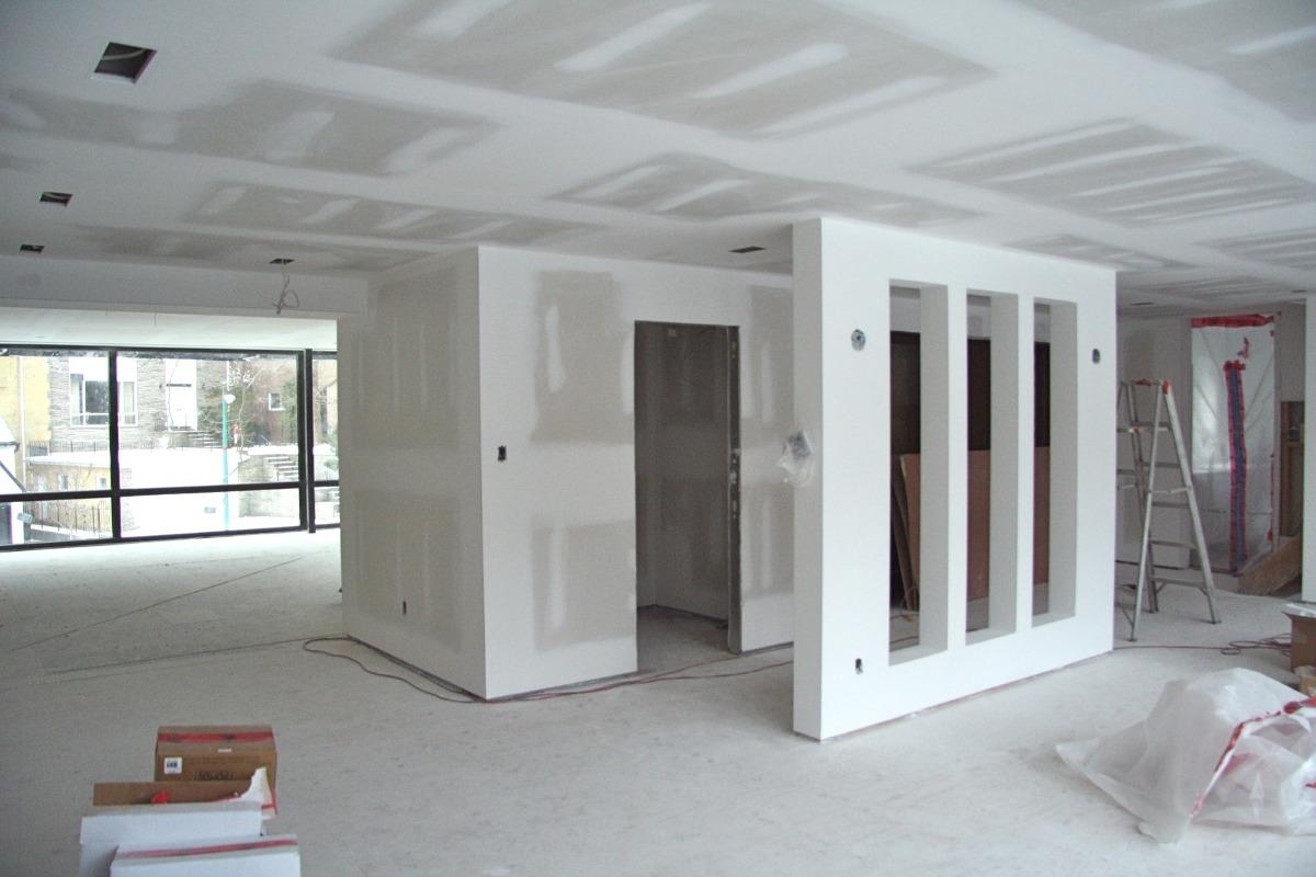Construcción De Drywall A Todo Costo O Solo Mano De Obra