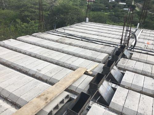 construccion de losas prefabricadas hormigon concreto.