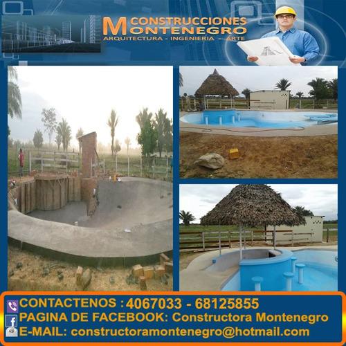 construcción de mega parques infantiles toboganes