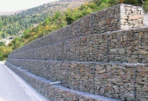 Construccion De Muros Y Gaviones De Piedra, Lajas, Adoquines - en ...