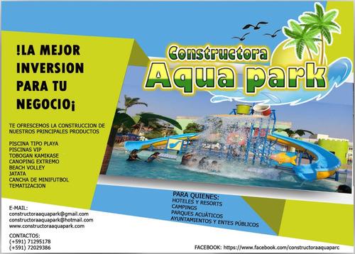construccion de parques acuaticos en bolivia