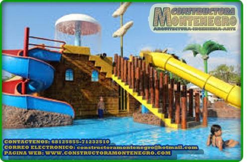 construccion de parques acuaticos infantiles en bolivia