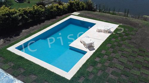 construcción de piletas natación - hormigón - zona norte gba