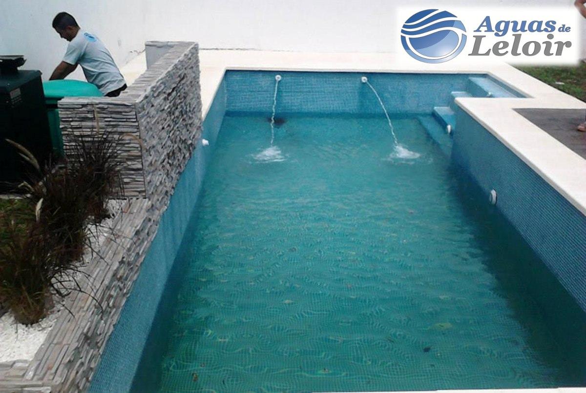 Construccion de piscina hormigon 6x3 aguas de leloir - Precio construccion piscina ...