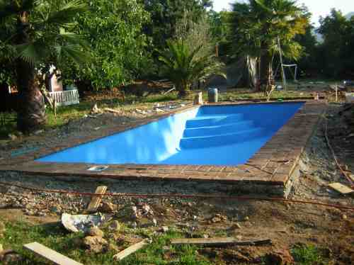 Construccion de piscinas 8x4 6x4 for Precio piscina hormigon 8x4
