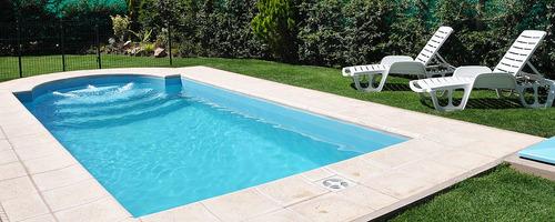 construcción de piscinas de hormigon 8x4 $210 terminada