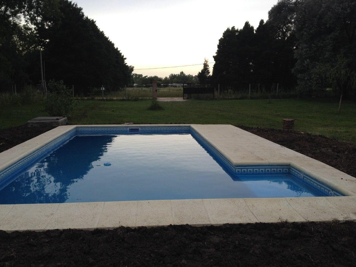 Construcci n de piscinas de hormig n armado en mercado libre for Construccion de piscinas argentina