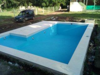 construcción de piscinas de hormigón - oferta 8x4