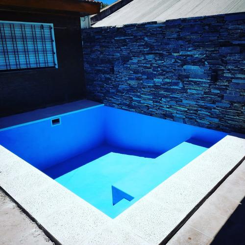 construcción de piscinas de hormigón promo 7 x 3