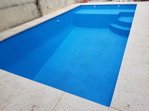 construcción de piscinas de hormigon reforzado.