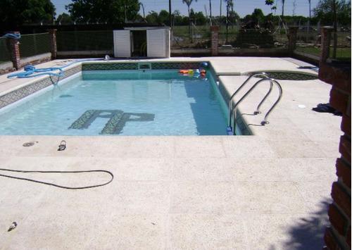 construcción  de piscinas de hormigón,4x8,piletas.