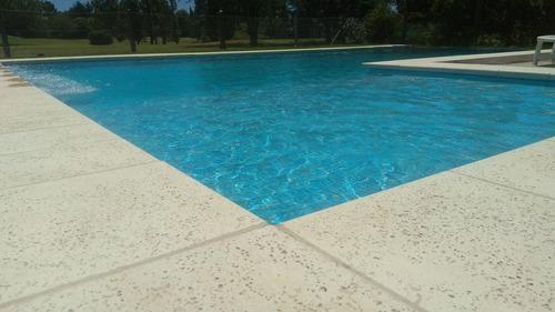 construcción de piscinas en hormigón proyectado