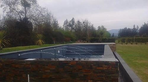 construcción de piscinas en hormigón y reparación rm, v y vi