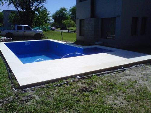 construccion de piscinas oferta-financiacion - 7x3 - $59.000