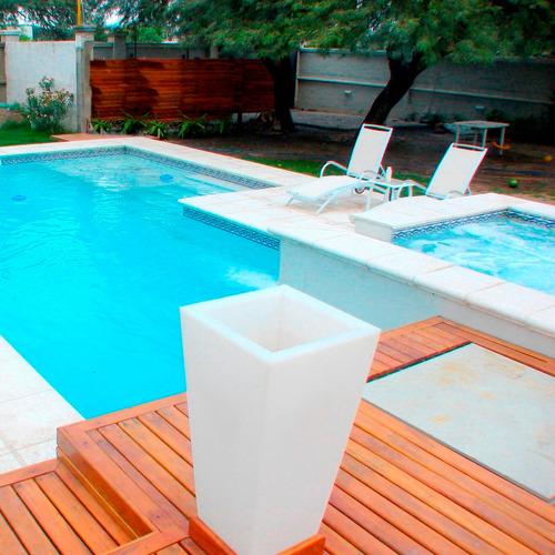 construcción de piscinas / piletas de hormigón proyectado