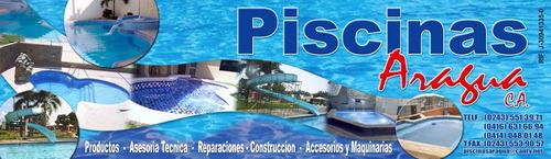 construccion de piscinas venta de equipos