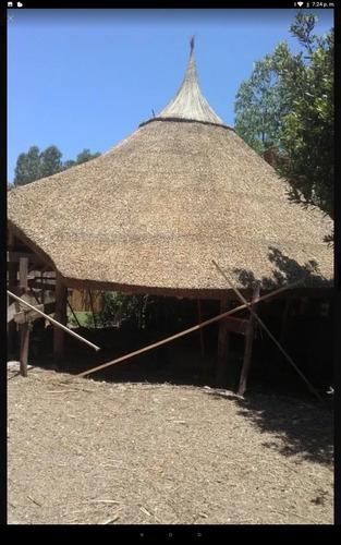 construcción de quinchos