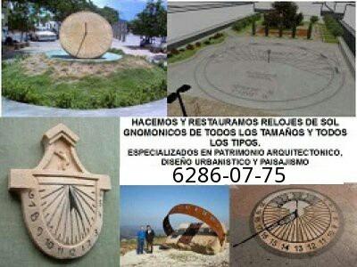 construcción de relojes monumentales gigantes de todo tipo