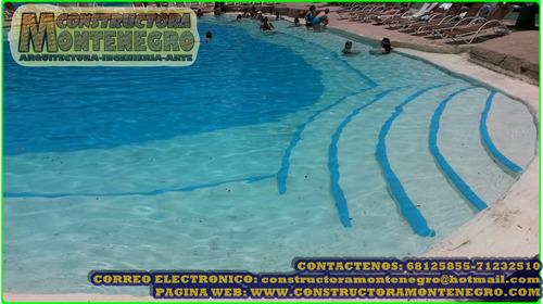 construccion de todo tipo de piscinas