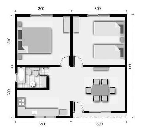 construccion de vivienda desde $60.000 el m2 material inclui