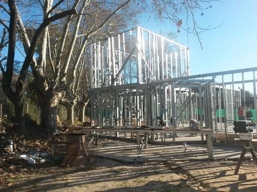 construccion de viviendas,steel framing,steel frame,procrear