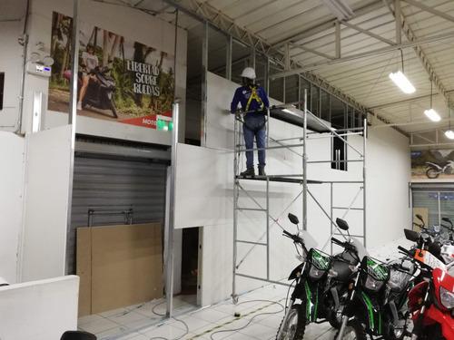 construcción drywall